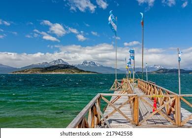 National Park Tierra Del Fuego in Ushuaia, Argentina.