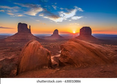 National park usa Monument Valley