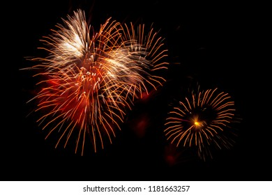 National pyrotechnics competition in the town of Tultepec, Mexico