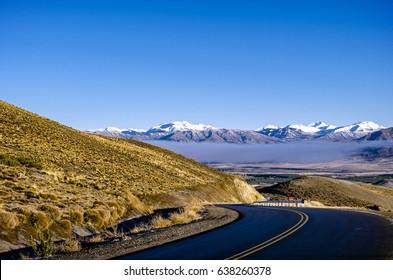 National Route 40. Neuquen, Patagonia, Argentina.
