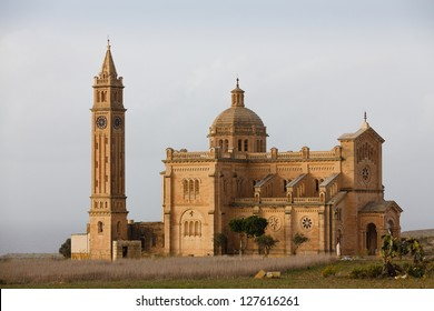 The National Shrine of the Blessed Virgin of Ta' Pinu, Gozo Island, Malta