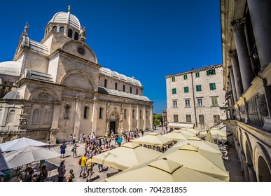 National Square, Sibenik, Croatia, July 217