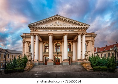 The National Theater of Oradea - Romania