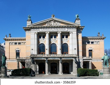 The National Theater Oslo Norway