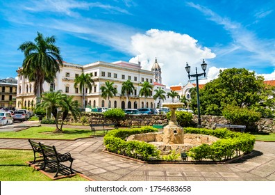 National Theatre of Panama in Casco Antiguo, Panama City