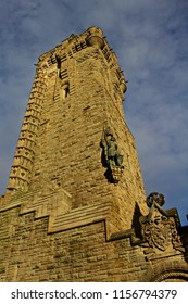 National Wallace Monument, Statue and Coat of Arms
