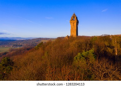 The National Wallace Monument is a tower standing on the shoulder of the Abbey Craig, a hilltop overlooking Stirling in Scotland. It commemorates Sir William Wallace, a 13th-century Scottish hero.