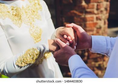 Cartoon Muslim Wedding Images, Stock Photos & Vectors