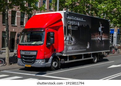 Nationale Opera Ballet Company Truck At Amsterdam The Netherlands 25-6-2020