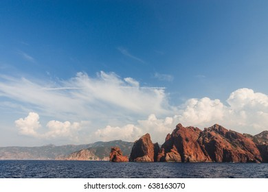 Nationnal park of scandola Corsica