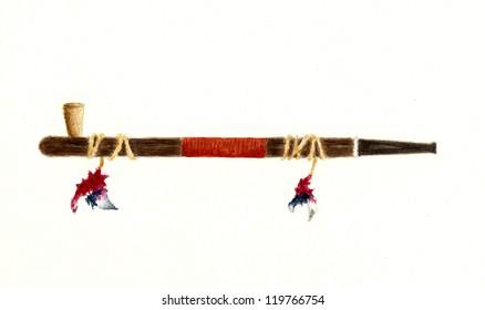 Native American Peace Pipe
