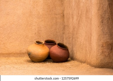 Native American Pottery from the Southwestern United States.