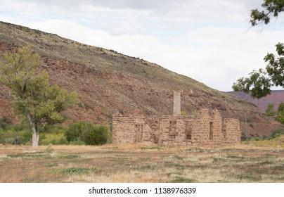Native American Ruins in Southern Utah