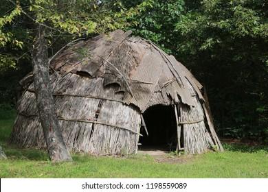 Native American wigwam replica