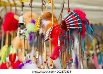 Native Canadian Indian Headdress