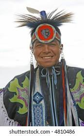 native dancer portrait
