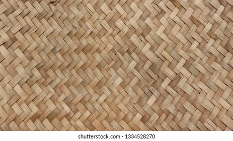 Native weave, wicker texture detail, bamboo crafts, background, textured background, bamboo weaving wall.