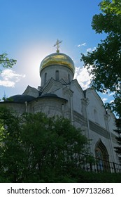 Nativity cathedral in Savvino-Storozhevski monastery, located in Zvenigorod, an old town in Moscow region, Russia