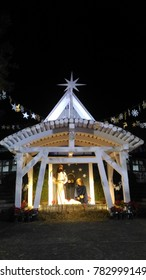 the Nativity scene in the Christmas Eve