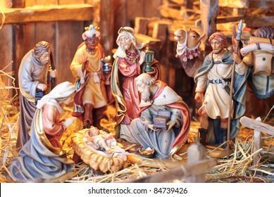 Nativity Scene The Three Magi At CrAtildeumlche Of Young