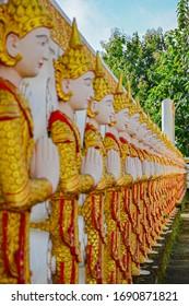 Nats Burmese guardian spirits in Kanchanaburi Thailand