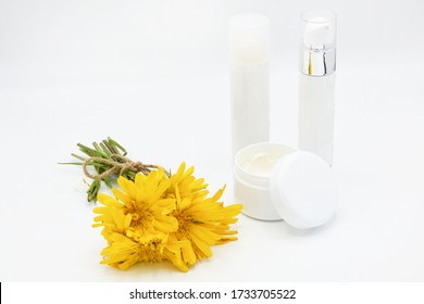 natural arnica creams with flowers