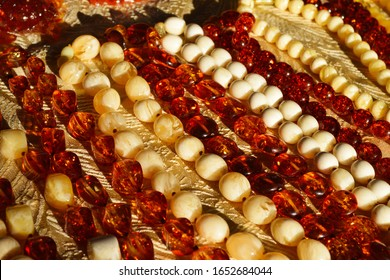 Natural baltic amber bead necklaces