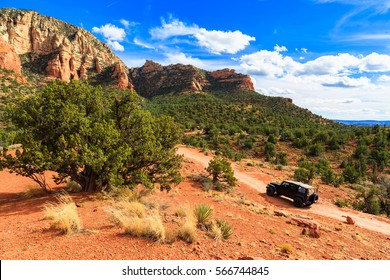 The natural beauty of the Arizona desert with majestic sandstone buttes.