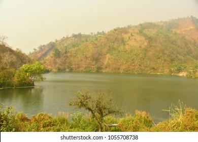 natural beauty of Bangladesh, boga lake, bandorban, bangladesh