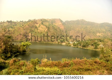Natural beauty of Bangladesh - BOGA LAKE, BANDARBAN, HILLY AREA