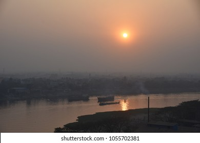 natural beauty of bangladesh- sunset, dhaka, Bangladesh