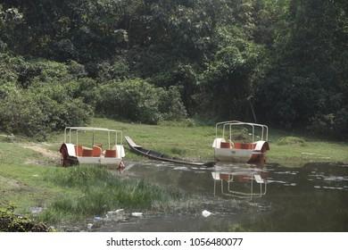 natural beauty of prantik lake, Bangladesh