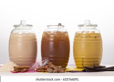 Natural beverages.