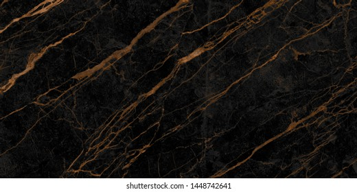natural black emperador marble texture background with golden veins, exotic limestone ceramic tile slice mineral marbel stone pattern, modern onyx brown breccia rustic matt italian quartzite granite.