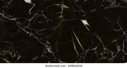 natural black marble slab