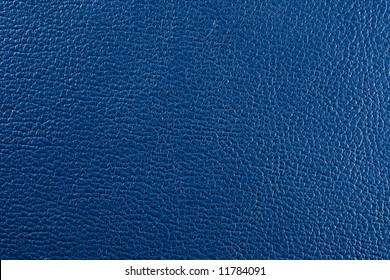 Natural blue leather texture. Close up.
