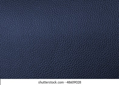 a natural blue leather texture. close up.