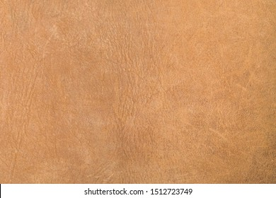 Natural brown leather texture, useful as a background. Color luxury fabric with pattern rough cloth surface. Weathered antique grain animal.