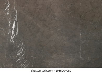 Natural Brown Marble Stone texture and background or pattern