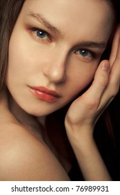 Natural closeup portrait.