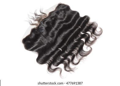Natural color  Lace Frontal Closure Body Wave 13inch plus 4 inch virgin remy hair