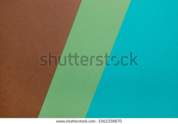 natural color layout with papers.