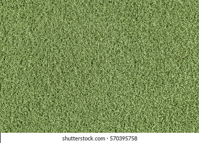 Natural colour plastic green astroturf background texture.