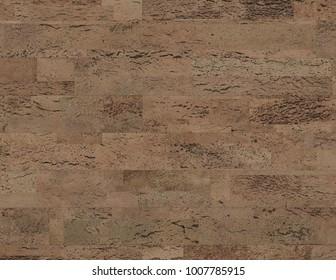 Natural Cork flooring texture