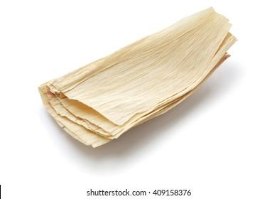 natural corn husks for making tamales