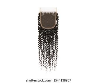 Natural curly hair closure- bohemian wave