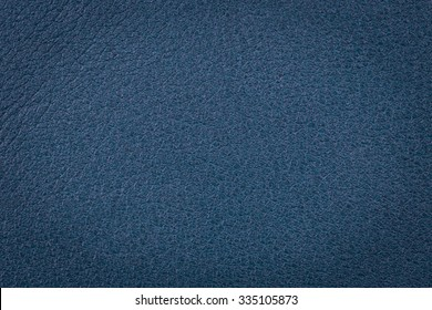 Natural dark blue leather surface