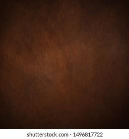 natural dark brown leather texture