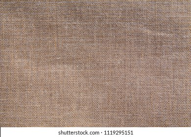 natural fabric linen brown sack pattern canvas or background. sackcloth textured. Textile seamless cream Japanese design.