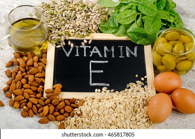 Natural Foods high in  vitamin E.